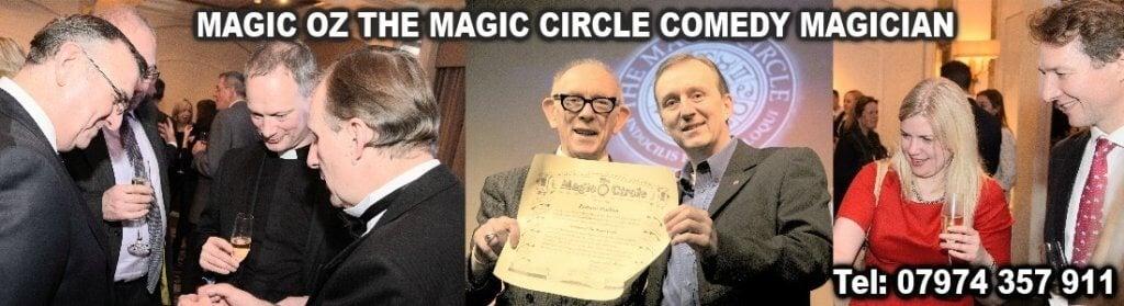 Magician Kingston upon Thames Magic OZ