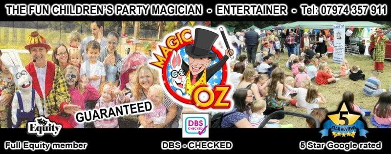 MAGIC OZ CHILDREN'S ENTERTAINER LONDON