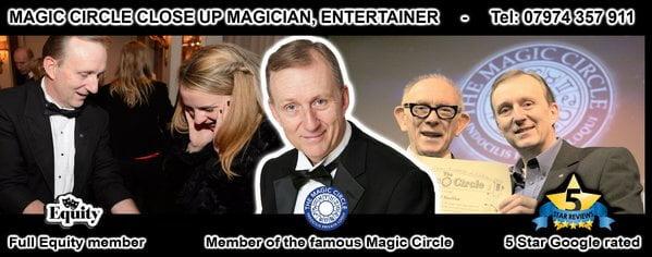 MAGIC CIRCLE MAGICIAN LONDON
