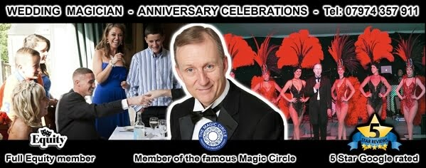 Wedding Anniversary Magician Magic OZ